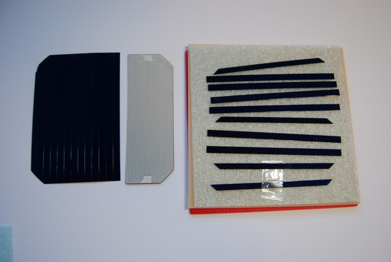 "Scribed 1/4"" PV Strips"